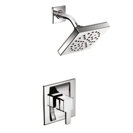 Moen 90 Degree Posi-Temp Eco-Performance Shower Faucet Trim with Lever Handle