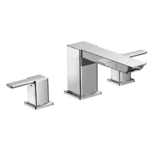 Moen 90 Degree Double Handle High Arc Roman Tub Faucet