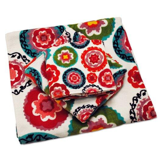 Susani Printed 3 Piece Towel Set