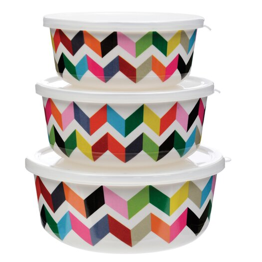 French Bull Ziggy 3-Piece Food Storage Container Set
