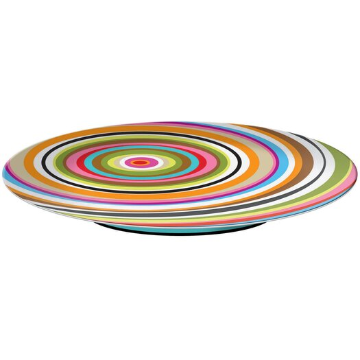 French Bull Ring Melamine Lazy Susan