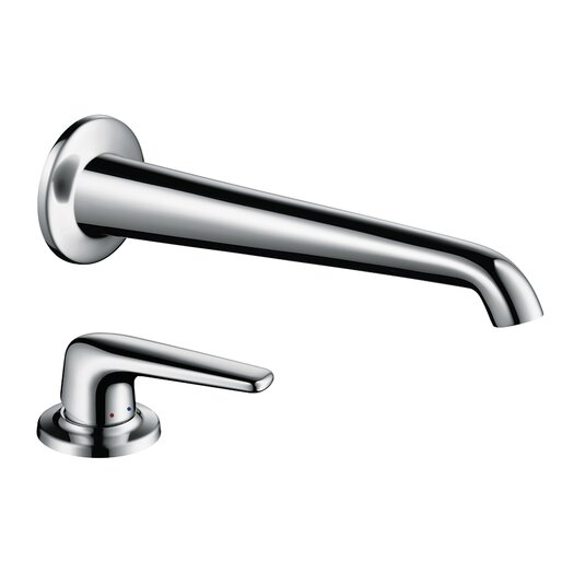 Hansgrohe Axor Bouroullec Single Handle Wall Mounted Tub Only Faucet Trim