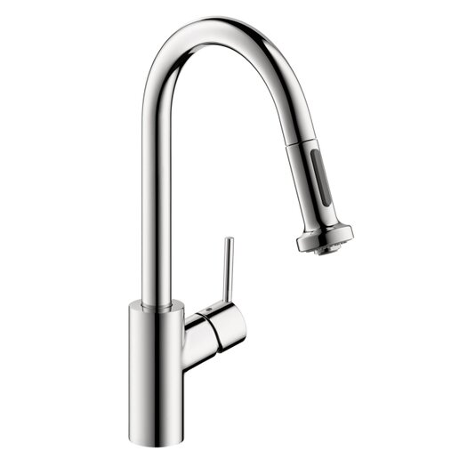 Hansgrohe Talis S 2 One Handle Deck Mounted Kitchen Faucet with Full and Needle Sprays