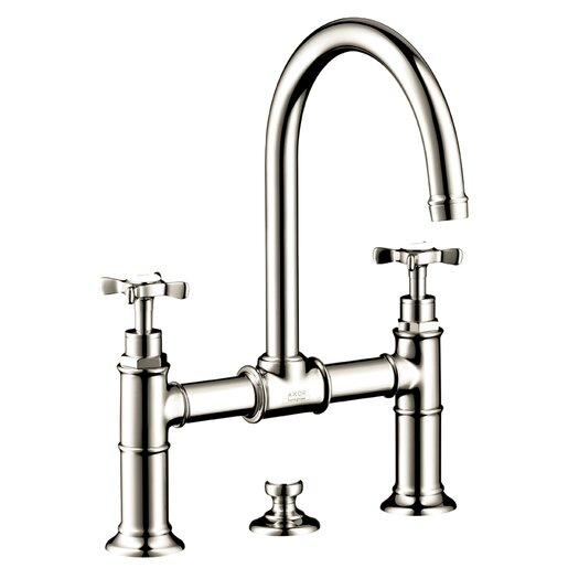 Hansgrohe Axor Montreux Double Handle Widespread Bathroom Faucet