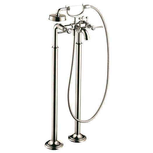 Hansgrohe Axor Montreux Two Handle Floor Mounted Freestanding Tub Filler