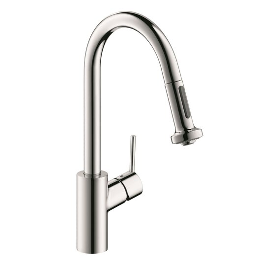 Hansgrohe Talis S One Handle Deck Mounted Kitchen Faucet with Pull Down 2 Sprayer