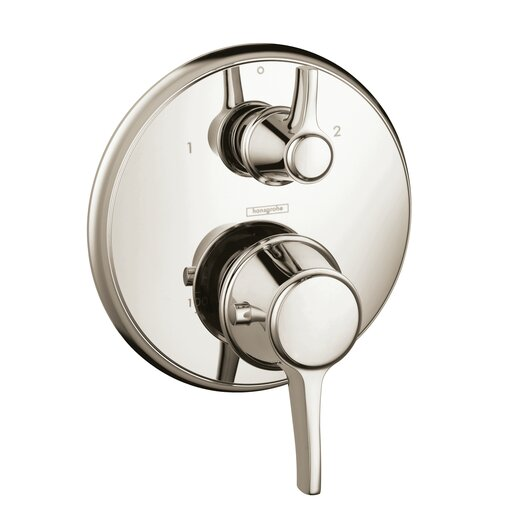 Hansgrohe Ecostat C Thermostatic Volume Control and Diverter Faucet Trim with Lever Handle