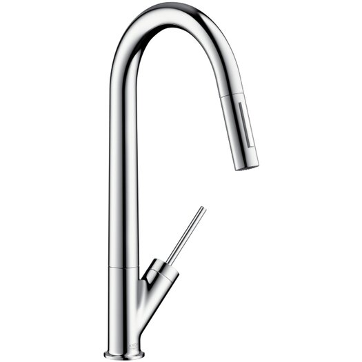 Hansgrohe Axor Starck Single Handle Deck Mounted Kitchen Faucet
