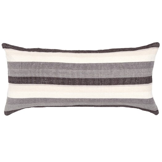Pine Cone Hill Montego Stripe Chenille Cotton Boudoir/Breakfast Pillow