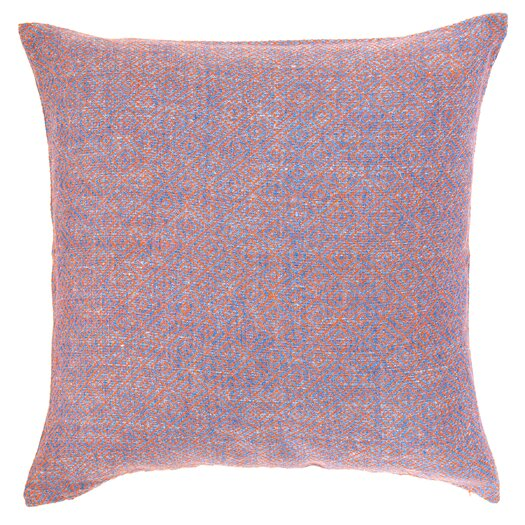 Pine Cone Hill Spice Diamond Linen Throw Pillow