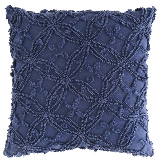 Pine Cone Hill Candlewick Cotton Throw Pillow