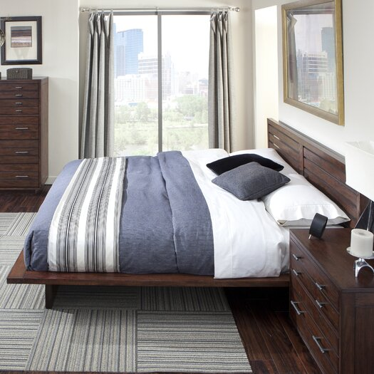 Cresent Furniture Hudson Platform Customizable Bedroom Set Allmodern