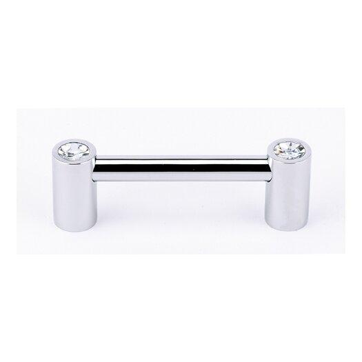"Alno Inc Swarovski Crystal 3"" Center Bar Pull"