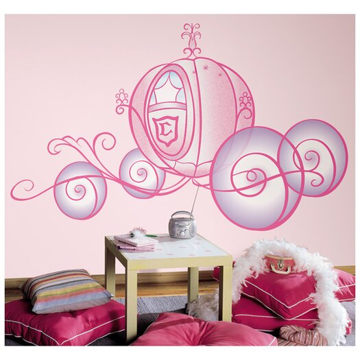 Room Mates Princess Carriage Wall Decal