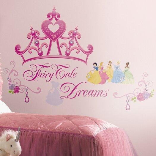 Room Mates Deco Disney Princess Crown Giant Wall Decal