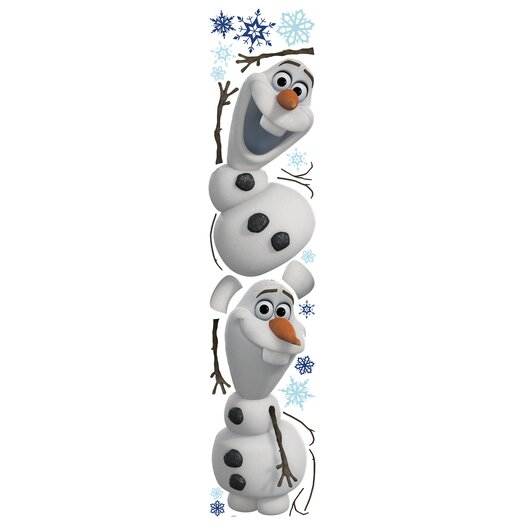Room Mates Popular Characters Frozen Olaf The Snowman Wall Decal