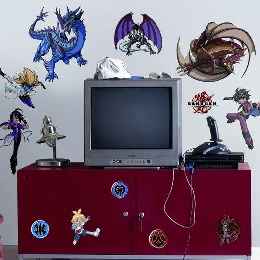 Room Mates Favorite Characters Bakugan Battle Brawlers Wall Decal