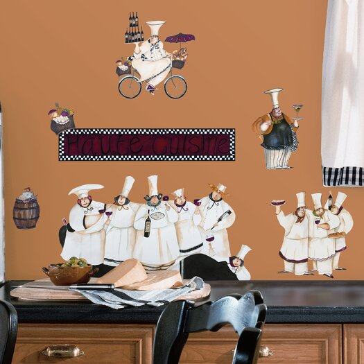 Room Mates Room Mates Deco 15 Piece Chefs Wall Decal