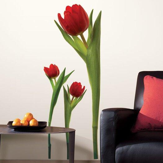 Room Mates Room Mates Deco 3 Piece Tulip Wall Decal