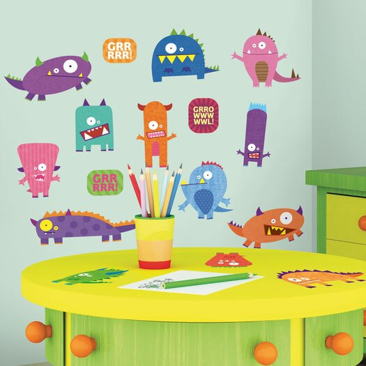 Room Mates Studio Designs Monsters Wall Decal