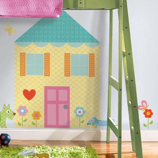 Room Mates Megapacks Build-a-House Wall Decal