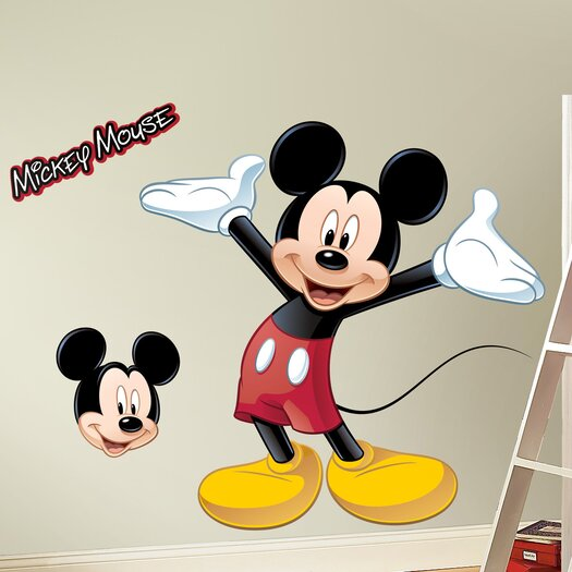 Room Mates Mickey Mouse Wall Decal
