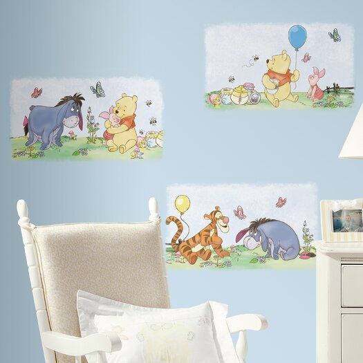 Room Mates Room Mates Deco Winnie The Pooh Poster Wall Decal