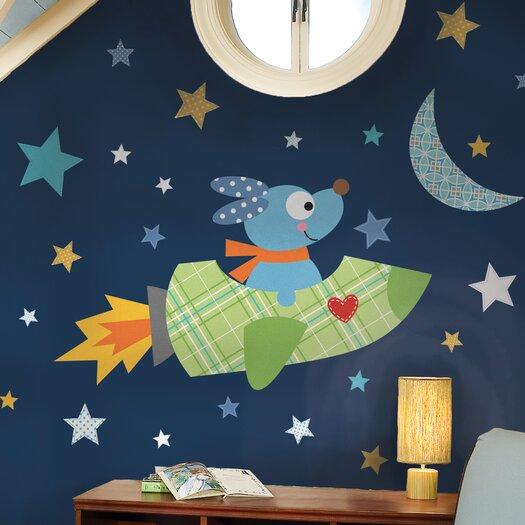 Room Mates Studio Designs Rocketdog Giant Wall Decal