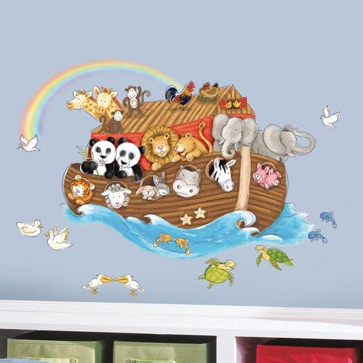Room Mates Studio Designs Noah's Ark Giant Wall Decal