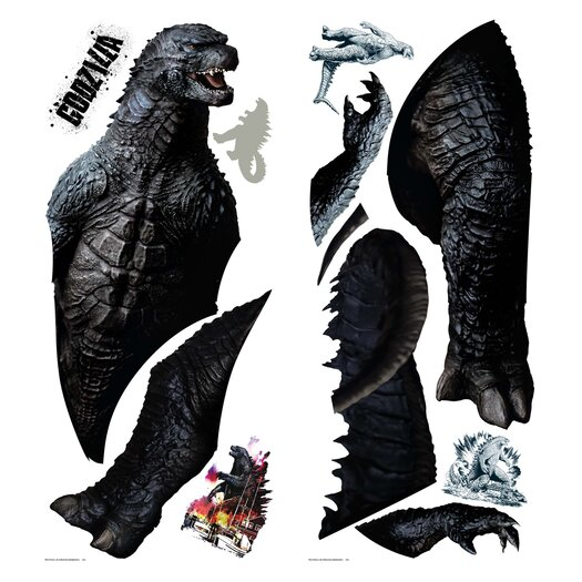 Room Mates Godzilla Giant Wall Decal