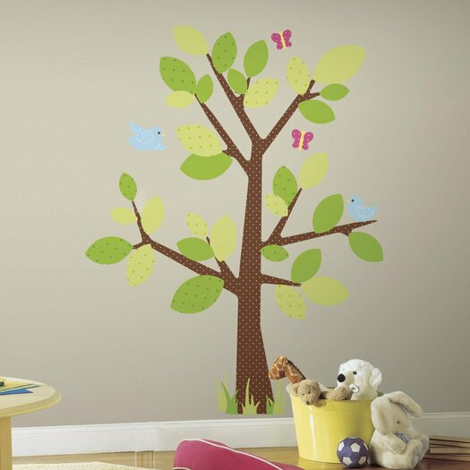Room Mates Studio Designs Kids Tree Giant Wall Decal