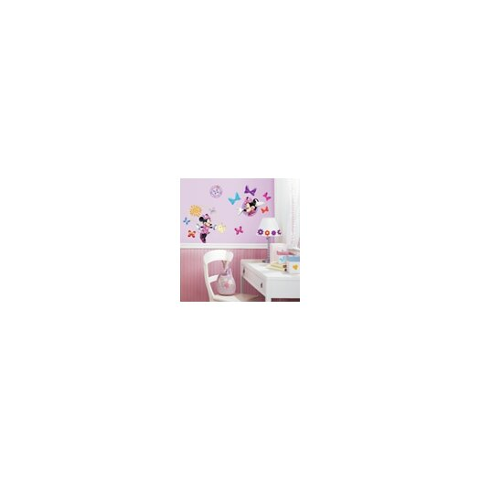 Room Mates Studio Designs Minnie Bow Tique Wall Decal