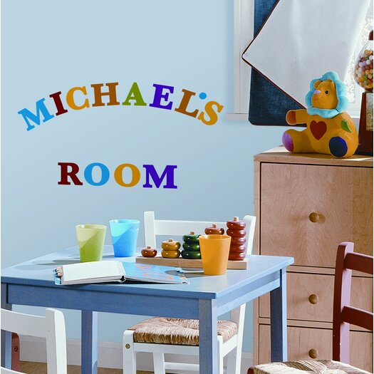 Room Mates Studio Designs 73 Piece Express Yourself Wall Decal