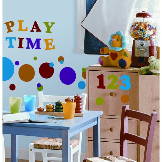 Room Mates Studio Designs 48 Piece Numbers Primary Wall Decal