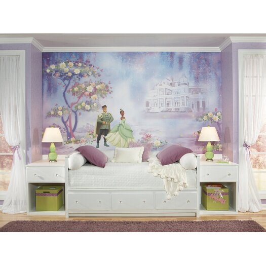 Room Mates The Princess and The Frog Wall Mural