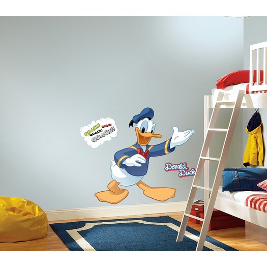Room Mates Mickey and Friends Donald Duck Wall Decal