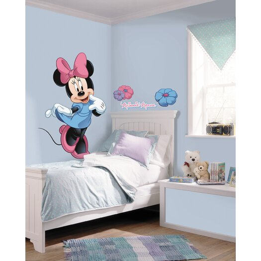 Room Mates Mickey and Friends Minnie Mouse Wall Decal