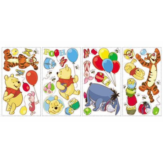 Room Mates Pooh and Friends Wall Decal