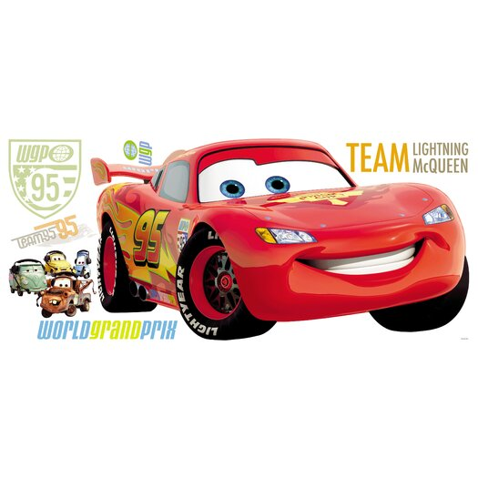Room Mates Disney Pixar Cars Giant Wall Decal