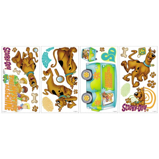 Room Mates Room Mates Deco Scooby Doo Wall Decal