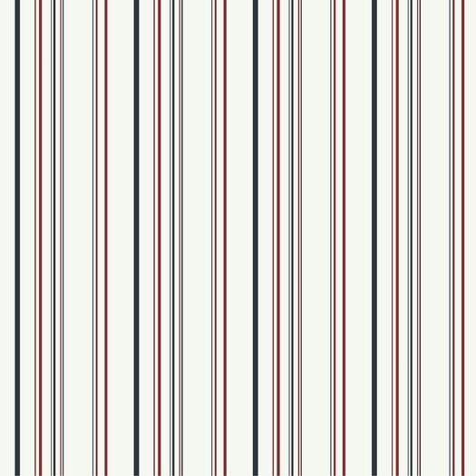 "Room Mates Room Mates Deco Wild 27' x 27"" Stripe Wallpaper"