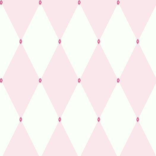 """Room Mates Room Mates Deco 33' x 20.5"""" Geometric Wallpaper"""