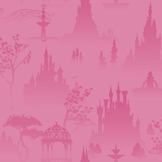 "Room Mates Room Mates Deco Princess Toile 1' x 2"" Scenic Wallpaper"