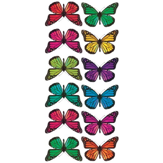 Room Mates Studio Designs Butterfly 3-D Wall Decal