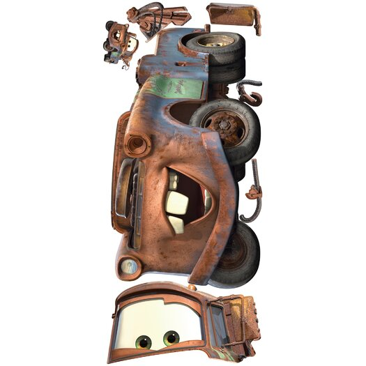 Room Mates Popular Characters Cars Mater Giant Wall Decal