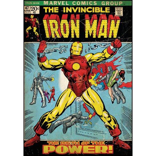 Room Mates Room Mates Deco Iron Man Wall Mural