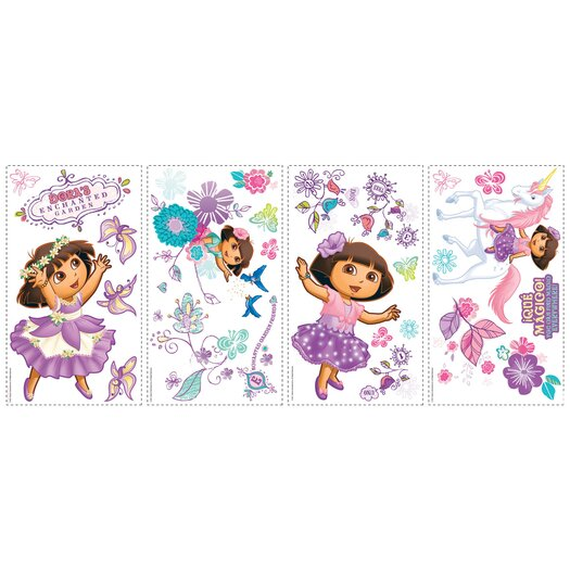 Room Mates Room Mates Deco The Explorer Enchanted Forest Adventures Wall Decal