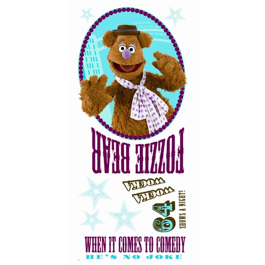 Room Mates Muppets Fozzie Giant Wall Decal