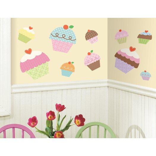 Room Mates Studio Designs Happi Cupcake Giant Wall Decal
