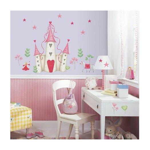 Room Mates Studio Designs 21 Piece Princess Castle Giant Wall Decal